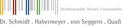 Kanzlei Dr. Schmidt – Habermeyer – von Seggern – Quaß