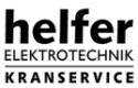 Helfer Elektrotechnik Kranservice GmbH & Co. KG